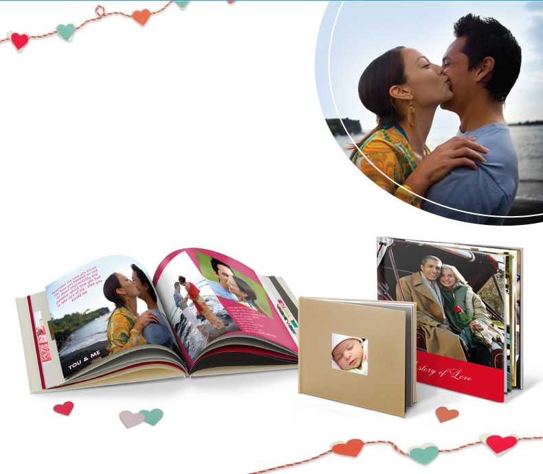 60% off photo books, calendars & cards