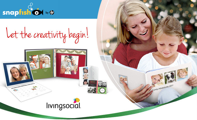 Let the creativity begin! Living Social