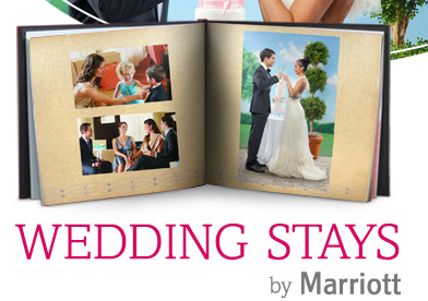 A special gift from Marriott® for your big day - Create your FREE 12x12 Signature Photo Book* - *Taxes, shipping and handling not included