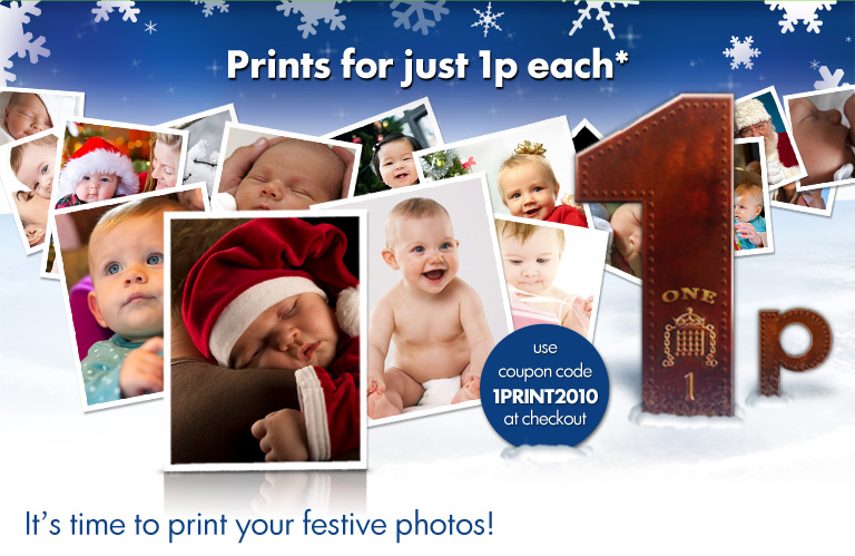 Prints for just 1p each* from HiPP Baby Club Photo Service!